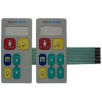 Buy cheap Custom PET Flexible Membrane Switch Embossing with Metal Dome / 3m Adhesive product
