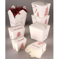 Buy cheap White Paper Box Packaging For Food  On The Go , Noodle Package Paper Box product