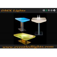 China Multi Color Changing RGB LED Bar Table Lights For Office / Home Decoration , Plastic Material on sale