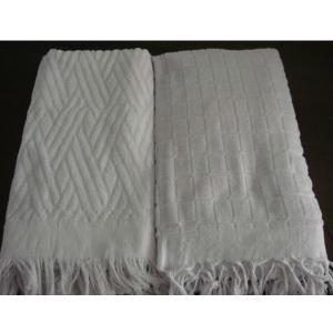 Buy cheap Plain white muslim hajj towel/ihram towel product