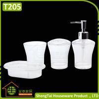 Factory manufacturer cheap price good quality white for Good bathroom accessories
