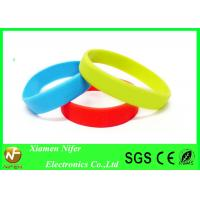 Buy cheap Fashion Custom Silicone Wristbands / Colorful Sport Bracelet product