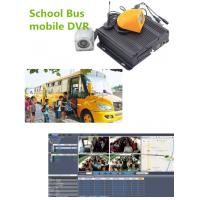 Buy cheap Hybrid Four - In - One 4CH Vehicle Mobile Vehicle DVR For School Bus , 1080P Resolution product