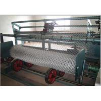 China Mechanical Pvc Wire Coating Machine Chain Link Making Machine Stainless Steel on sale