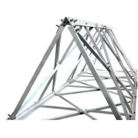 Buy cheap 60° angle steel tower manufacturer, cold bent angular tower, 60° triangle steel from wholesalers