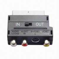 Buy cheap Mini SCART Adapter, Customized Packing Types are Accepted product
