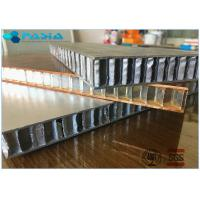 Buy cheap Fire Proof Honeycomb Wall Panels , Lightweight Honeycomb Panels 1x1 M2 Size product