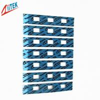 LED Heat Sinking Housing Thermal Conductive Pad 4.7 W / mK for Uneven Surfaces low stress applications 1 l /g-K