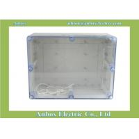 320*240*140mm ip66 Large Plastic Project Enclosure - Weatherproof with Clear Top