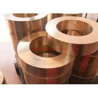 China Smooth Pure Oxygen Free Copper Strip , Copper Sheet C1100 C1020 on sale