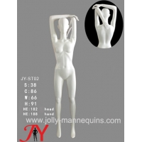 Buy cheap Jolly Mannequins- China mannequins factory female athlete sport stretching shoulder overhead stretching mannequin JY-ST0 product