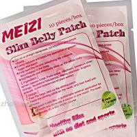 Meizi Slim Belly Pacth Powerful Slimming Pacth Burning Fat Slimming Herbal Weight Loss Patch