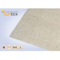 Buy cheap High Silica Cloth 18oz Welding Blanket Roll High Temperature Resistant 1000C Heavy Duty product