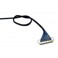 Buy cheap 15 Pin 7.3mm 1.0mm 200mm LVDS Video Cable product