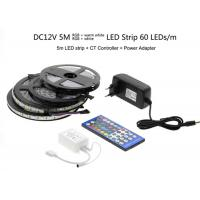Buy cheap 5050 RGBW / RGBWW 5M 300LEDs LED Strip Light Kit Epistar LED Chip product