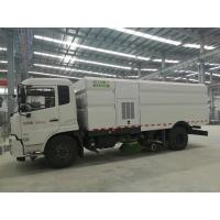 Buy cheap Cummins 140HP Street Cleaner Truck , Road Washing Truck With Monitor product