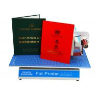 Buy cheap AMD-8025 Custom Hot Foil Machine Foil Label Printer Machine For Book Covers / Dated Items product