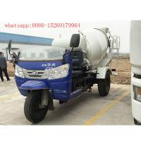 Buy cheap chinese 3 wheel 2 cubic meters concrete mixer truck from wholesalers
