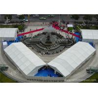 China Waterproof White PVC Fabric Cover Aluminum Alloy Outdoor Event Tent on sale