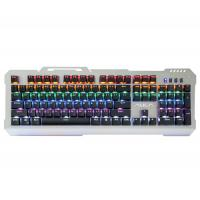 LED Backlit Gaming Keyboard AULA SI-2008 LOL Winner Wired 9 Patterns Marquee