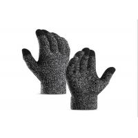 China Adult Cold Weather Work Gloves ,  Knit Touchscreen Gloves Unisex Gender on sale