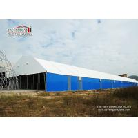 Buy cheap 2000 Square Meters Metal Frame Steel Panel Permanent Industrial Storage Tents Structure Instant Set Up from Wholesalers