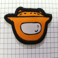 Buy cheap Laser Cut High Density Fashion Clothing Woven Patches for Garment product