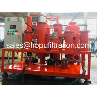 Buy cheap Hydraulic Oil Vacuum Cleaning Machine, Used Hydraulic Oil Purification Plant, Oil Purifier,Lube Oil Filtering Unit product