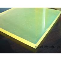 Buy cheap high tear strength PU sheet,colored Anti-abrasion board   little yellow   45A-95A product