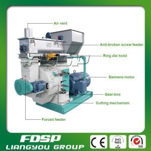 China SKF bearing Siemens motor wood sawdust pelletizer&Biomass Pellet Mill on sale