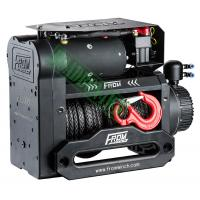 Dual Motor Electric Winch Off Road Electric Winch 4X4 12V 12000Lb 12000Lbs Recovery Winch with Synthetic Rope Twin Motor