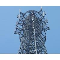 Buy cheap Telecom tower, 81 meters microwave communication tower manufacturer product