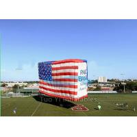 Buy cheap Cube Large Jumbo Patriotic Custom Advertising Inflatables For Outdoor Tradeshow from Wholesalers