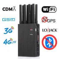 Buy cheap device to block wifi signal 8ch High Power Cell Phone Jammer wholesale China Jammer Phone Jammer Factory product