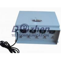 China No Cooling Fan 75W Portable Cell Phone Jammer , 3G Mobile Phone Jamming Device on sale