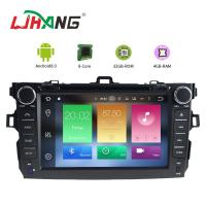 Buy cheap Steering Wheel Control Toyota Corolla Verso Dvd Player , HD Display Radio Dvd Player product