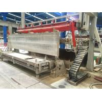 Horizontal AAC Block Production Line Customized Power 40t Weight Anticorrosive