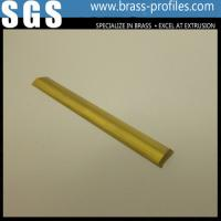 Copper Extruded Shapes : Radial extruded brass bar curved copper rod manufacturer