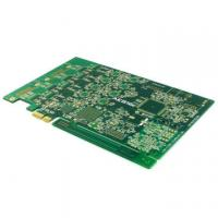 Buy cheap 10 layer PCB FR4 with Gold Finger from wholesalers