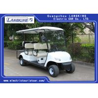 Buy cheap White Color 48V 3KW DC Motor Electric Golf Carts With 6 Seats Easy Operated product