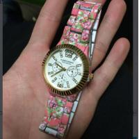 Buy cheap Personalized Geneva Floral Watches With Custom Logo , Diamond Ladies Watch product