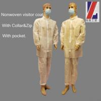 Buy cheap Nonwoven Disposable Lab Coat from wholesalers