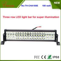 "Buy cheap Three Rows High Quality 180W 25"" 60*3w Epistar LED Offroad LED Light Bar for SUV, 4X4, UTV product"