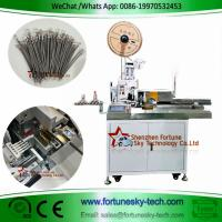 Buy cheap High Accuracy English System Fully Automatic Five Wires One-end Strip Crimp One-end Strip Twist Tinning Machine product