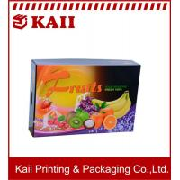 Buy cheap Customized Fruit Paper Packaging Box / Corrugated Paper Box / Paper Corrugated Boxes With  Your Logo product