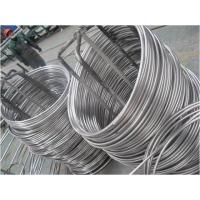 China Bright Annealed Marine System Stainless Steel Coil Tube on sale