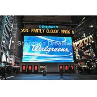 Buy cheap 10mm RGB Full Color Led Outdoor Advertising Screens MBI5024 IC With OPTO / SILAN LED product