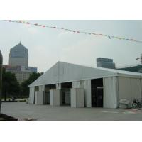 Buy cheap 18m Wide Clear Span Aluminum Tent Frame , White Event Tent With Air Condition System product