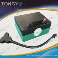 China Light Powerful Lithium Golf Trolley Battery , 12V 16AH Golf Caddy Battery on sale