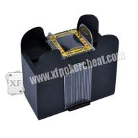 Buy cheap Plastic 6 Deck Automatic Card Shuffler With One Camera For Baccarat Cheating product